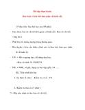 Giáo án Công Nghệ lớp 8: Bài tập thực hành. Đọc bản vẽ chi tiết đơn giản có hình cắt