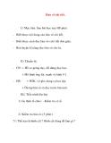 Giáo án Công Nghệ lớp 8: Bản vẽ chi tiết (tiết 2)