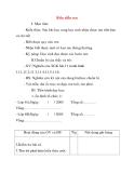 Giáo án Công Nghệ lớp 8: Biểu diễn ren