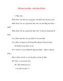Giáo án Công Nghệ lớp 8: Đồ dùng loại điện – nhiệt bàn là điện