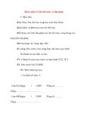 Giáo án Công Nghệ lớp 8: Khái niệm về chi tiết máy và lắp ghép