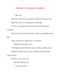 Giáo án Công Nghệ lớp 8: Thực hành vẽ sơ đồ nguyên lý mạch điện