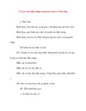 Giáo án Công Nghệ lớp 8: Vai trò của điện năng trong sản xuất và đời sống (tiết 2)