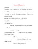 Giáo án Mỹ Thuật lớp 8: Vẽ tranh cổ động (tiết 1)