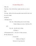 Giáo án Mỹ Thuật lớp 8: Vẽ tranh cổ động ( tiết 2 )