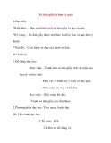 Giáo án Mỹ Thuật lớp 8: Xé dán giấy lọ hoa và quả