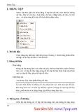 Hướng dẫn sử dụng phần mềm kế toán MISA-SME phiên bản 7.9 part 2