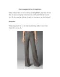 Chọn trang phục cho bạn có vòng hông to