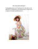 Diện váy hoa sành điệu nhất ngày hè