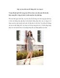 Mặc váy hoa thế nào để 'thẳng tiến' vào công sở