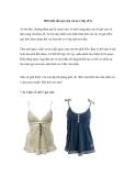1001 biến tấu gợi cảm với áo 2 dây (P.1)