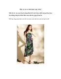 Mẫu váy nào sẽ chinh phục ngày nắng?