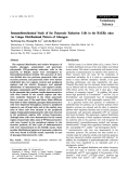 """Báo cáo khoa học: """"Immunohistochemical Study of the Pancreatic Endocrine Cells inthe BALB/c mice: An Unique Distributional Pattern of Glucagon"""""""