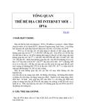 Giới thiệu IP version v6 phần 1