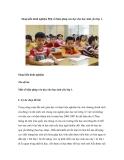 Sáng kiến kinh nghiệm Một số biện pháp rèn đọc cho học sinh yếu lớp 1