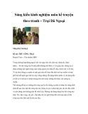 Sáng kiến kinh nghiệm môn kể truyện theo tranh – Trại Dã Ngoại
