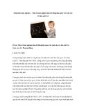 Sáng kiến kinh nghiệm – Một số kinh nghiệm làm đồ dùng làm quen với toán cho trẻ lứa tuổi 5-6