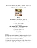 Sáng kiến kinh nghiệm môn tiếng việt lớp 1 – một số biện pháp luyện đọc đúng cho học sinh lớp 1 trong các tiết tập đọc