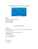 Sáng kiến kinh nghiệm môn toán lớp 1 – ôn tập các số đến 10