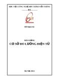 Bài giảng cơ sở đo lường điện tử - Đỗ Mạnh Hà
