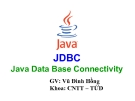 Java Data Base Connectivity