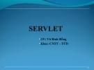 LẬP TRÌNH WEB VỚI SERVLET