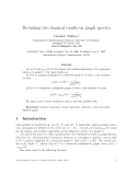 """Báo cáo toán học: """"Revisiting two classical results on graph spectra"""""""