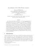 "Báo cáo toán học: ""An analogue of the Thue-Morse sequence"""