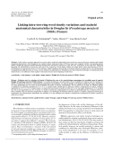 """Báo cáo lâm nghiệp: """"Linking intra-tree-ring wood density variations and tracheid anatomical characteristics in Douglas fir (Pseudotsuga menziesii (Mirb.) Franco)"""""""