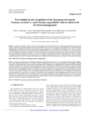 """Báo cáo lâm nghiệp: """"New insights in the recognition of the European ash species Fraxinus excelsior L. and Fraxinus angustifolia Vahl as useful tools for forest management"""""""