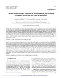 "Báo cáo lâm nghiệp: ""Growth versus storage: responses of Mediterranean oak seedlings to changes in nutrient and water availabilities."""