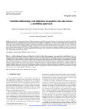 """Báo cáo lâm nghiệp: """"Variables influencing cork thickness in spanish cork oak forests: A modelling approach"""""""