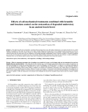 """Báo cáo lâm nghiệp: """"Effects of soil mechanical treatments combined with bramble and bracken control on the restoration of degraded understory in an ancient beech forest"""""""