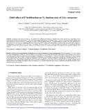 "Báo cáo lâm nghiệp: ""Field effect of P fertilization on N2 fixation rate of Ulex europaeus"""