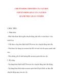 Giáo án Vật Lý lớp 10: CHUYỂN ĐỘNG TỊNH TIẾN CỦA VẬT RẮN CHUYỂN ĐỘNG QUAY CỦA VẬT RẮN QUANH TRỤC QUAY CỐ ĐỊNH