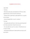 Giáo án Vật Lý lớp 10: BA ĐỊNH LUẬT NIU-TƠN (Tiết 2)
