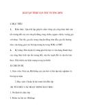 Giáo án Vật Lý lớp 10: BÀI TẬP TÍNH VẬN TỐC TƯƠNG ĐỐI