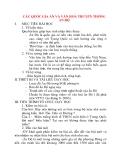 Giáo án Lịch Sử lớp 10: CÁC QUỐC GIA ẤN VÀ VĂN HOÁ TRUYỀN THỐNG ẤN ĐỘ