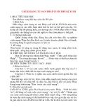 Giáo án Lịch Sử lớp 10: CÁCH MẠNG TƯ SẢN PHÁP CUỐI THẾ KỈ XVIII