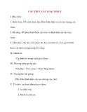 Giáo án Sinh Học lớp 10: CẤU TRÚC CÁC LOẠI VIRUT