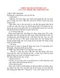 Giáo án Lịch Sử lớp 10: CHIẾN TRANH GIÀNH ĐỘC LẬP CỦA CÁC THUỘC ĐỊA ANH Ở BẮC MĨ