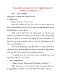 Giáo án Lịch Sử lớp 10: CÔNG CUỘC XÂY DỰNG VÀ PHÁT TRIỂN KINH TẾ TRONG CÁC THẾ KỶ X - XV
