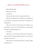 Giáo án Địa Lý lớp 10: ĐỊA LÝ CÁC NGÀNH GIAO THÔNG VẬN TẢI