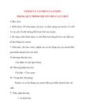 Giáo án Sinh Học lớp 10: ENZIM VÀ VAI TRÒ CỦA ENZIM TRONG QUÁ TRÌNH CHUYỂN HOÁ VẬT CHẤT