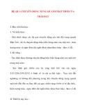 Giáo án Địa Lý lớp 10: HỆ QUẢ CHUYỂN ĐỘNG XUNG QUANH MẶT TRỜI CỦA TRÁI ĐẤT