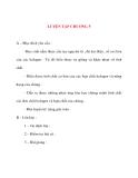 Giáo án Hóa Học lớp 10: LUYỆN TẬP CHƯƠNG 5