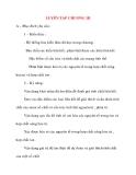 Giáo án Hóa Học lớp 10: LUYÊN TẬP CHƯƠNG 3