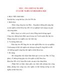 Giáo án Lịch Sử lớp 10: MÁC - ĂNG GHEN SỰ RA ĐỜI CỦA CHỦ NGHĨA XÃ HỘI KHOA HỌC