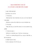 Giáo án Địa Lý lớp 10: MỘT SỐ HÌNH THỨC CHỦ YẾU CỦA TỔ CHỨC LÃNH THỔ CÔNG NGHIỆP