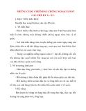 Giáo án Lịch Sử lớp 10: NHỮNG CUỘC CHIẾN ĐẤU CHỐNG NGOẠI XÂM Ở CÁC THẾ KỶ X - XV